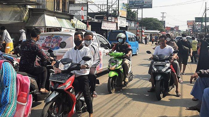 Info Lalu Lintas - Pagi Ini Jalan Raya Bojonggede Ramai Lancar Kedua Arah