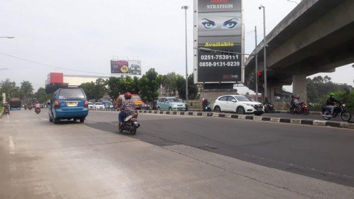 Arus Lalu Lintas Simpang Yasmin saat Ini Ramai Lancar