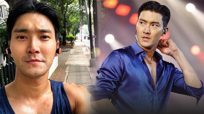 Siwon Super Junior Jogging di Jakarta, Sempat Foto Selfie di Pedestrian