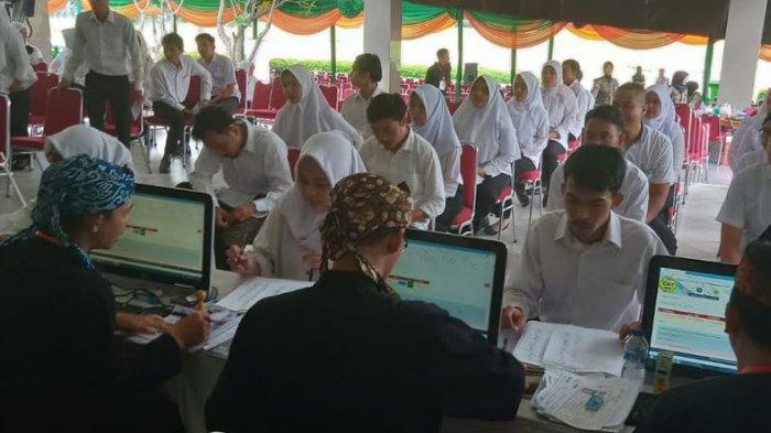 Ribuan Peserta CPNS Kota Bogor Jalani Tes SKD, Sekda Pastikan Tak Ada Kecurangan