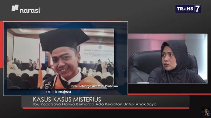 Ibu Yakin Ada Skenario Besar di Balik Dugaan Editor Metro TV Bunuh Diri, Ayah Ingin Lihat Jaket Yodi