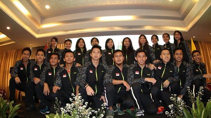 45 Orang Perwakilan Tim Thomas Uber Indonesia Berangkat ke Thailand