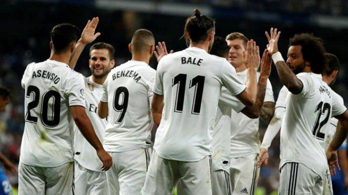 Link Live Streaming Real Madrid vs Granada, Kickoff Pukul 21.00 WIB