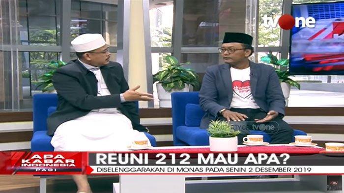 Isu Pencekalan Dianggap Penarik Massa Reuni 212, Maarif Singgung Beda Nasib Ahok dengan Habib Rizieq