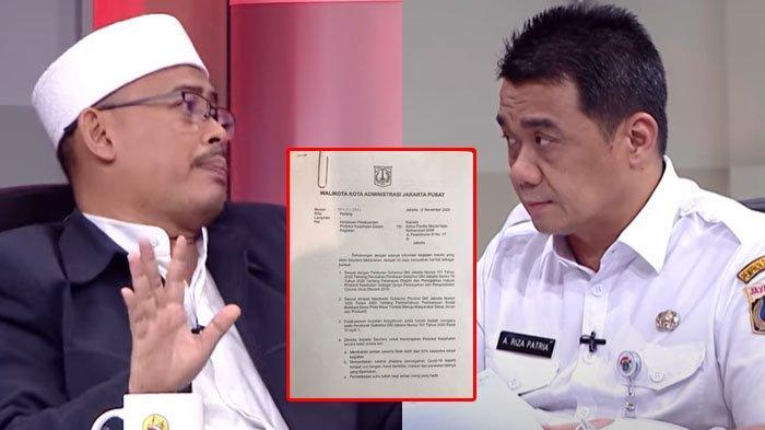 FPI Ngaku Acara Habib Rizieq Didukung Pemprov DKI, Wagub Tunjukan Bukti : Ternyata Surat Peringatan