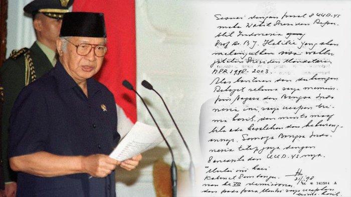 21 Mei Jadi Sejarah, Soeharto Tak Berdaya Digulingkan Mahasiswa Setelah 32 Tahun Berkuasa