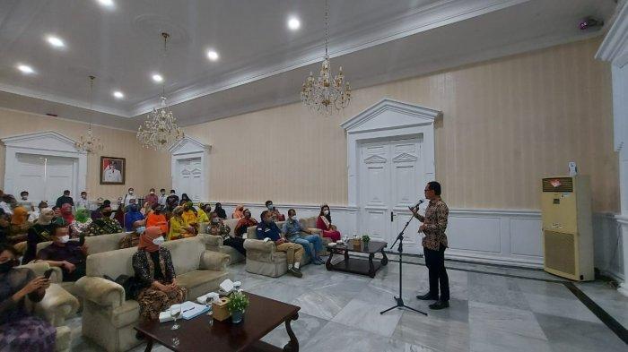 Soft opening Jabar Culture and Tourism Festival (JaFest) 2021 digelar di Balai Kota Bogor, Sabtu (20/3/2021).
