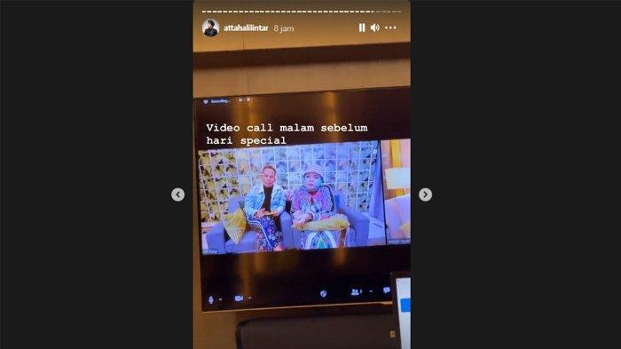Atta Halilintar video call dengan kedua orangtuanya jelang pernikahan