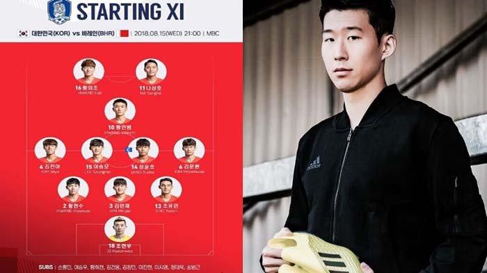 Bintang Tottenham Spurs Son Heung-min, Korea Selatan U-23 Libas Bahrain 6-0