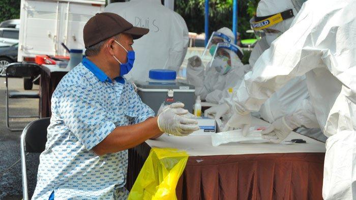 BREAKING NEWS - Tes Swab Massal di Terminal Baranangsiang Kota Bogor, 7 Orang Terkonfirmasi Positif