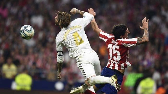 Rekap Liga Spanyol - Atletico Vs Real Madrid Imbang, Barcelona Menang