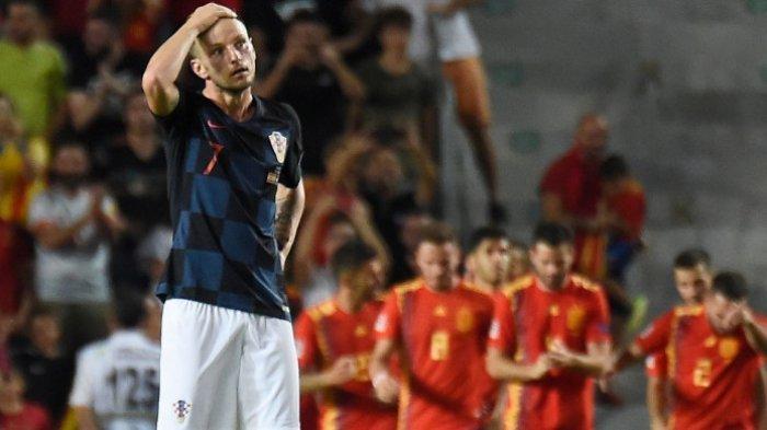 Runner Up Piala Dunia 2018, Kroasia 'Hancur Lebur' Dihajar Spanyol Setengah Lusin Gol