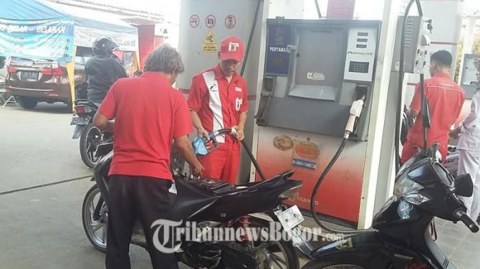 Sebulan Ini, Konsumsi Premium di Bogor dan Depok Mulai Berkurang