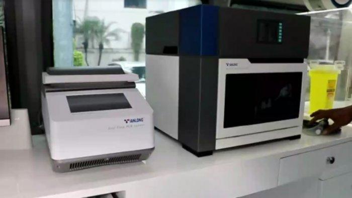 Peralatan yang ada di dalam Speedlab Mobile PCR Covid-19