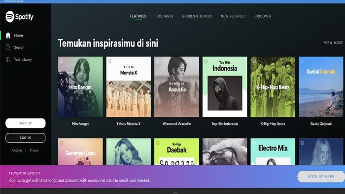 Lowongan Kerja di Spotify, Terbuka Bagi yang Suka Hiburan dan Lancar Berbahasa Indonesia
