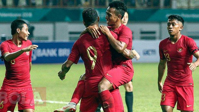 Link Live Streaming Timnas Indonesia Vs Thailand - Tendangan Zulfiandi Buat Indonesia Unggul 1-0