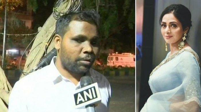 Pernah Ditolong, Pria Tunanetra Ini Rela Tidur di Luar Rumah Sridevi, Alasannya Bikin Netter Nangis