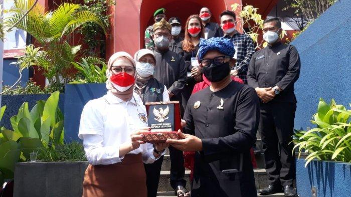 Tinjau Vaksinasi Massal Penyandang Disabilitas, Stafsus Presiden: Kota Bogor Dapat 1300 Vaksin
