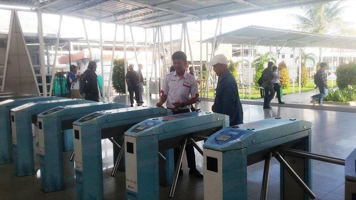 paska Kereta Anjlok, Stasiun Bogor Terpantau Lengang Senin Pagi Ini