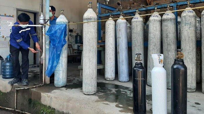 Permintaan Meningkat, Stasiun Pengisian Tabung Oksigen di Tajurhalang Bogor Utamakan yang Sakit