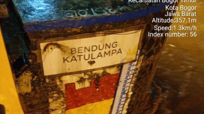 Status Tinggi Muka Air Ciliwung di Bendung Katulampa Bogor Siaga 3 Malam Ini
