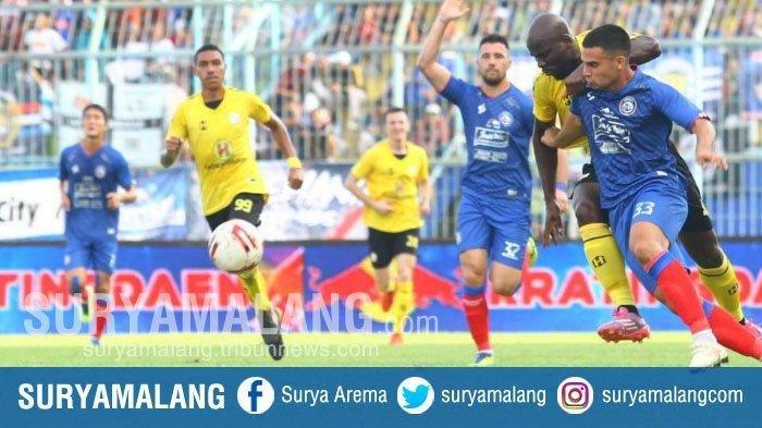 Hasil Babak Pertama Arema FC vs Persib, Singo Edan Sukses Cetak Gol Jelang Jeda Laga