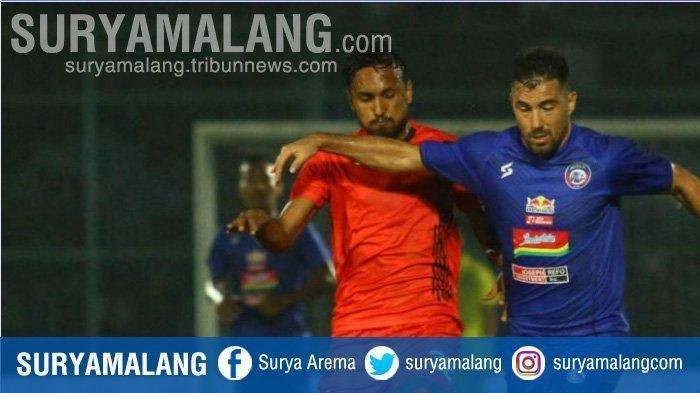 Arema FC vs Persib Bandung - Singo Edan Tak Bisa Full Team