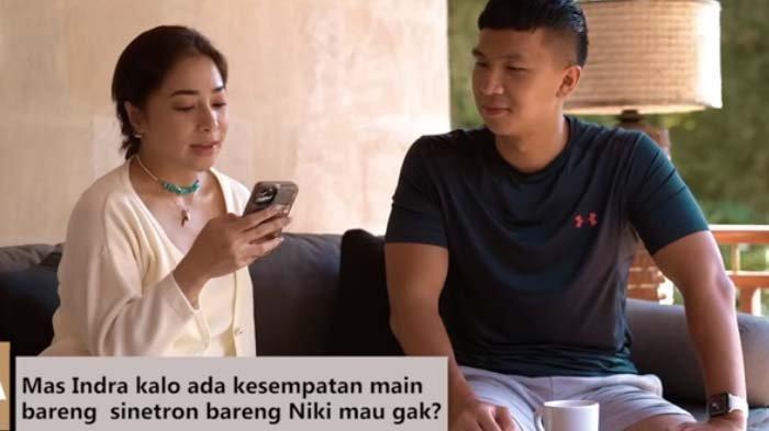Indra Priawan Ditawari Main Sinetron, Nikita Willy Bereaksi saat Suami Singgung soal Bayaran