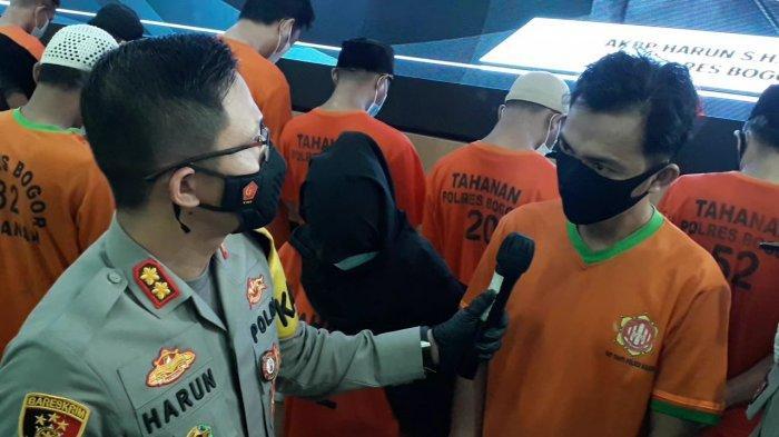 Edarkan Sabu, Suami Istri di Puncak Bogor Dibekuk Satnarkoba Polres Bogor