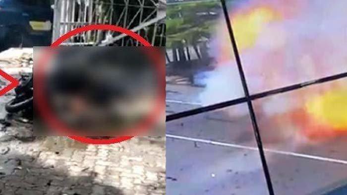 Suami istri merinding lihat ledakan bom di gereja Makassar, sebut tubuh manusia berserakan
