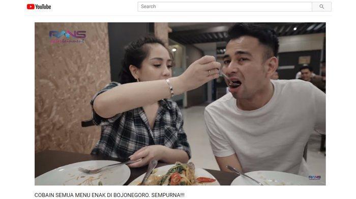 Tak Ribet Soal Makan, Raffi Ahmad : Asal Jangan Pedas