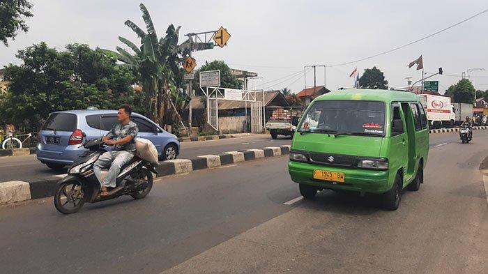 Info Lalu Lintas : Jalan Raya Parung Bogor saat Ini Lancar, Cuaca Cerah