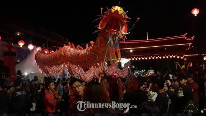 Kemeriahan Parade Seni dan Budaya di Bogor Street Festival CGM 2020