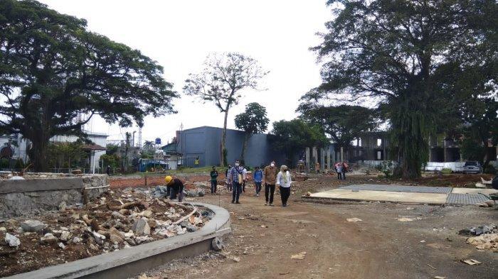 Proyek Alun-alun Kota Bogor Digeber, Pemkot Bogor Akan Tanam 200 Pohon Dari Berbagai Jenis