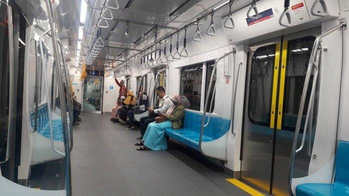 Ada Demo Tolak UU Cipta Kerja, Hari Ini Kereta MRT Hanya Beroperasi hingga Pukul 18.00 WIB