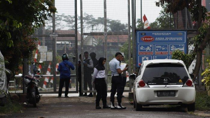 Jalani Rapid Test Massal, Petugas Lapas Gunungsindur Bogor Bebas dari Covid-19
