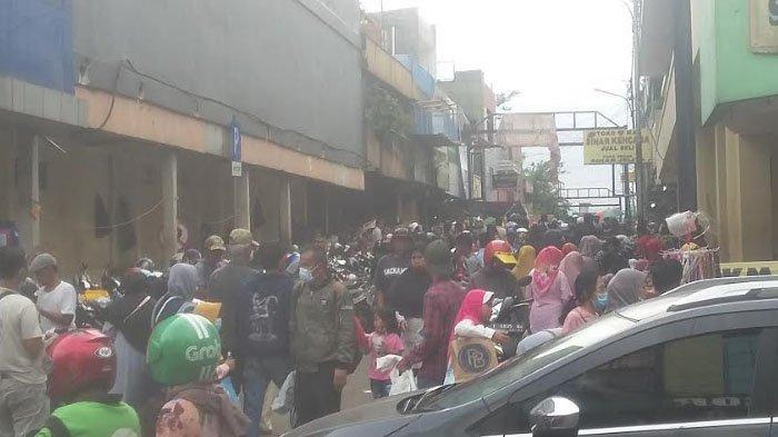 Suasana Pasar Pedati Kota Bogor Jelang Lebaran, PKL Kebanjiran Pembeli