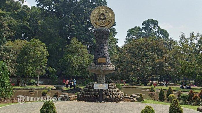 Suasana Kebun Raya Bogor, Kamis (12/3/2020).