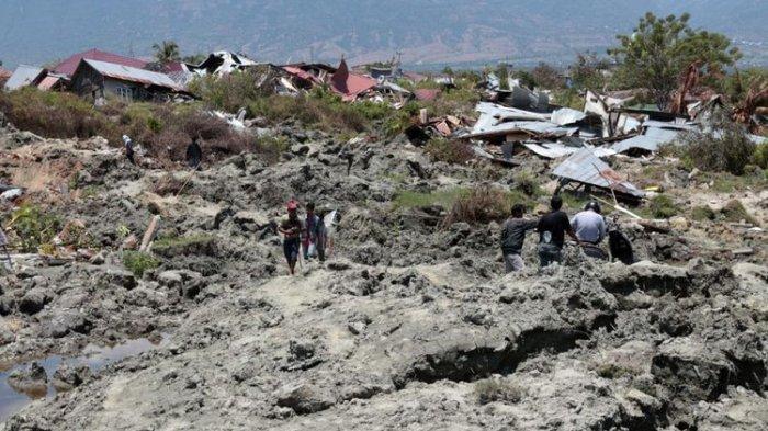 Data BNPB : Korban Meninggal Gempa dan Tsunami Sulteng Menjadi 1.948