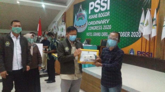 Hasil Kongres Tahunan PSSI Askab Bogor, Ada Pemberian Award
