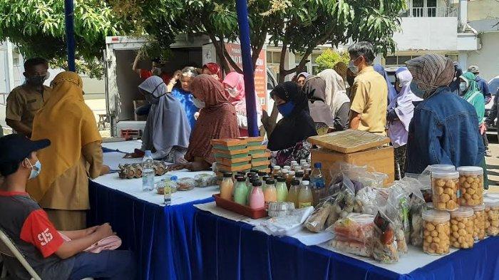 Dinas Ketahanan Pangan Kabupaten Bogor Gelar Operasi Pasar Cabai di Bojonggede Bogor