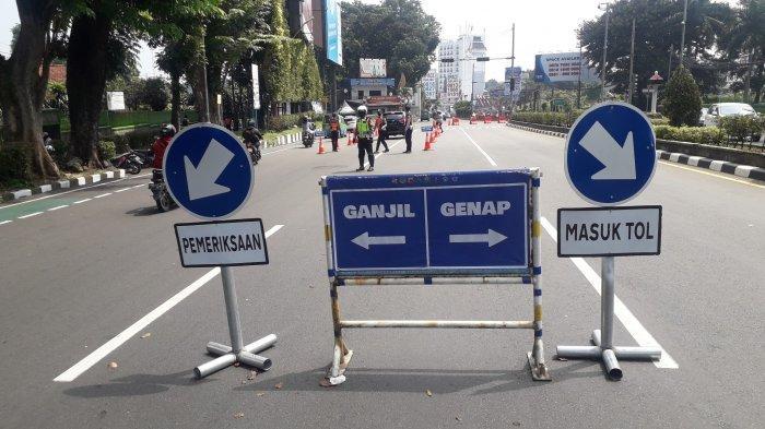 Ganjil Genap PPKM Level 4, Pusat Kota Bogor Akhir Pekan Ini Cenderung Lengang