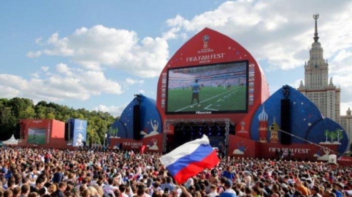 Astaga ! Rusia Terima Ancaman Bom di Lokasi Penyelenggaraan Piala Dunia 2018