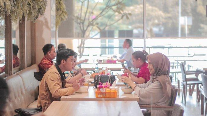 Resto Cibinong City Mall Perkenankan Pengunjung Makan Ditempat, Ini Syaratnya