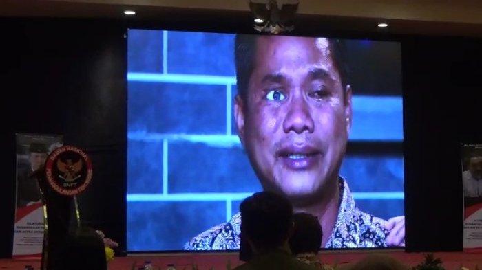 Suasana silaturahmi antara penyintas dan mitra deradikalisasi yang digelar Badan Nasional Penanggulangan Teroris (BNPT) di Cisarua, Puncak, Kabupaten Bogor.