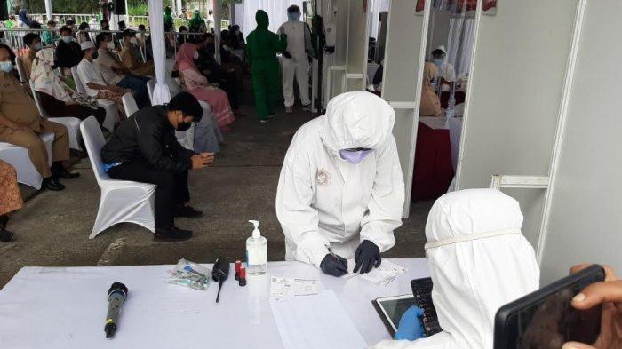 BIN Lakukan Swab Antigen Massal di Bojonggede, 27 Orang Dinyatakan Reaktif