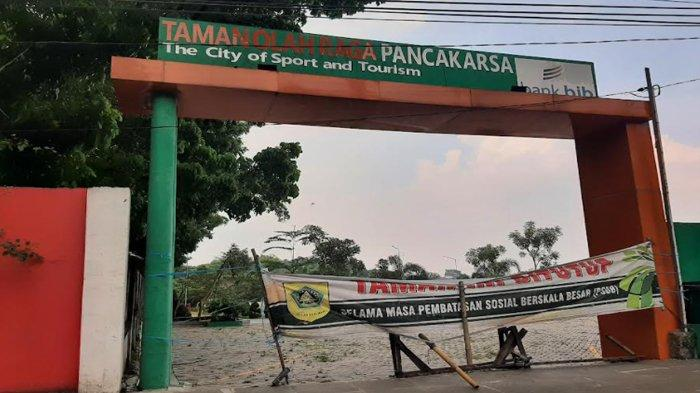 PPKM Dilonggarkan, Taman Pancakasa Cibinong Masih Ditutup