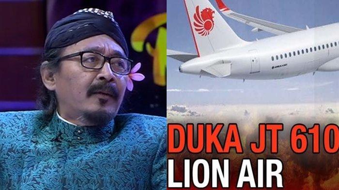 Sudjiwo Tedjo Sebut Para Korban Lion Air JT610 Meninggal Secara Mulia: Aku Ingin Mati Saat Mendalang