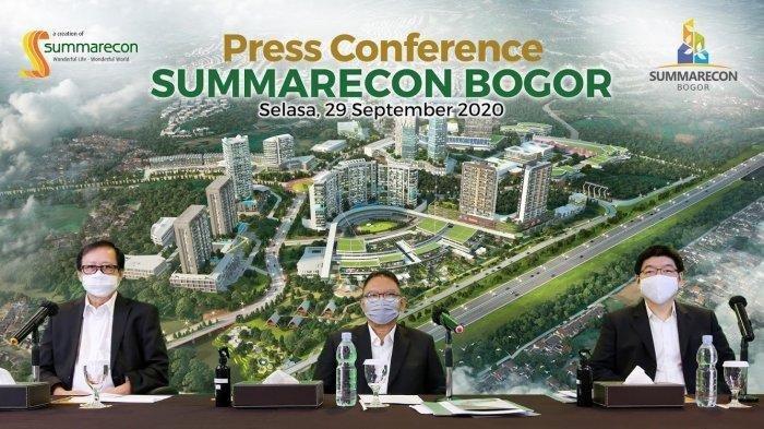 Summarecon Kembangkan Kawasan Baru di Bogor, Kenalkan 3 Cluster