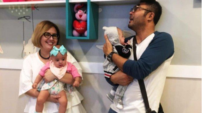 Terlahir Prematur, Anak kembar Cynthia Lamusu dan Surya Saputra Terkena Penyakita Mata Berbahaya